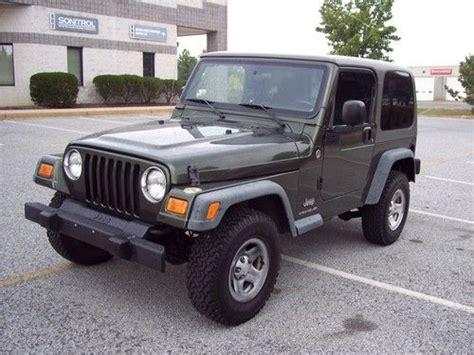 Used 2006 Jeep Wrangler Sell Used 2006 Jeep Wrangler Se 4wd Hardtop 4 Cylinder