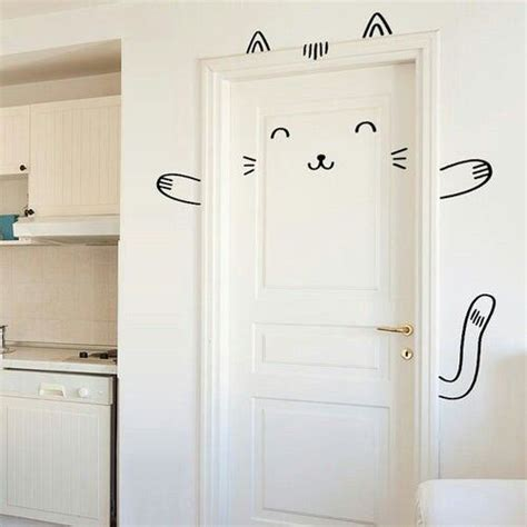 Diy Room Door Decor by Best 25 Bedroom Door Ideas On White