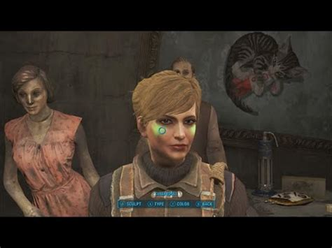 tattoo diamond city fallout 4 fallout 4 how to customize character after exiting the