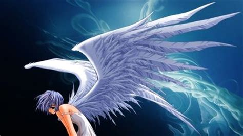 Flying Eagle Fast Blade Black Blue anime with blue wings inspiration avian