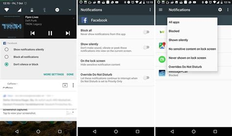 notifications android settings android nougat tips and tricks androidpit