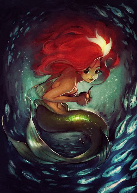 ariel mermaid fan art 25791337 fanpop
