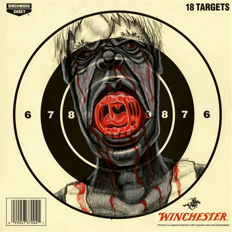 printable zombie face targets zombie target 1 by th3artd3pt on deviantart
