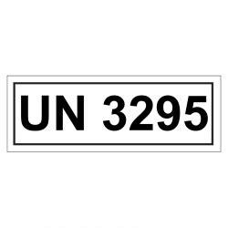 Un Aufkleber Bestellen by Un Verpackungskennzeichen Mit Un 3295 Aufkleber Shop