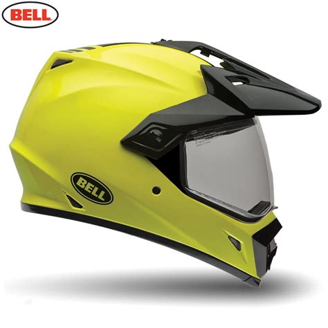 bell motocross helmets uk bell motorcycle helmets bell mx 9 adventure solid hi viz