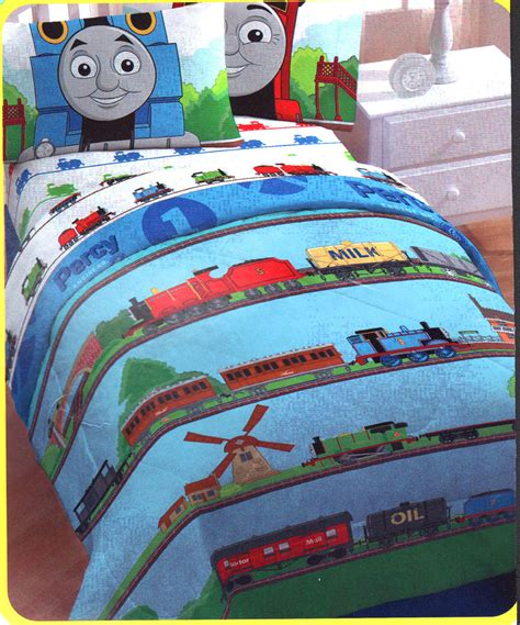 thomas the train twin bed set thomas train ride rails twin single bed comforter