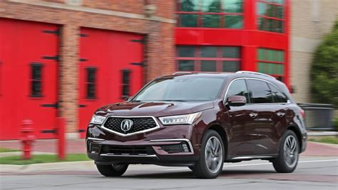 awd towing capacity roadtest 2017 acura mdx sh awd safety rating towing
