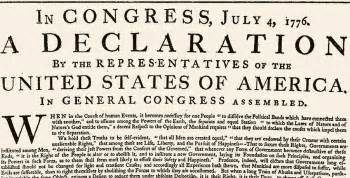 The declaration of independence and the pursuit of happiness russo