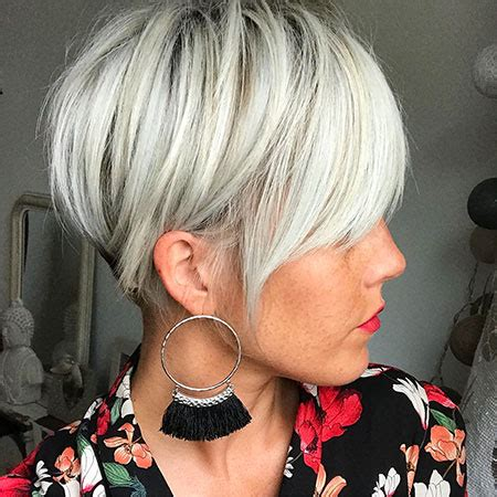 25 Short Hair with Bangs 2018   Short Hairstyles
