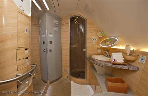 emirates a380 bathroom emirates to fly 5 star hotel on airbus a380 realitypod
