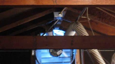 master flow attic fan master flow 1600 cfm power gable vent fan youtube