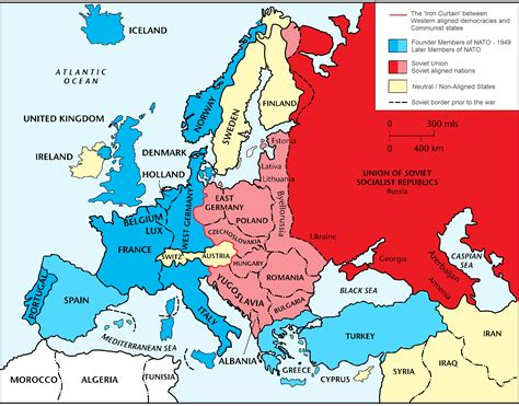 europe map 1945 cold war europe 1945 to 1990 2 gif 1920 215 1504 home