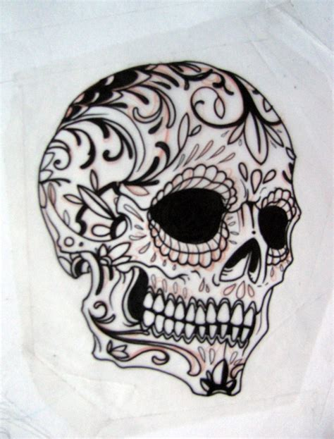 pictures of skull tattoos gallery for gt simple sugar skull tattoos