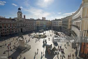 porta sol madrid the puerta sol madrid stock photo getty images
