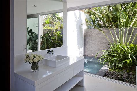 open air bathroom designs private beach villas offer spectacular ocean views and