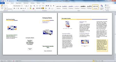 cara membuat outline word cara gang membuat brosur dengan microsoft word