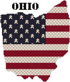 ohio pattern works marti harrington designs patriotic cross stitch on