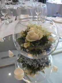 bowls for centerpieces fish bowl centerpiece floral