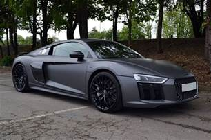 2016 audi r8 matte grey wrap reforma uk