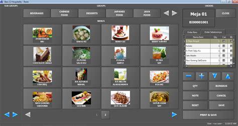 software kasir pembukuan khusus restoran  cafe