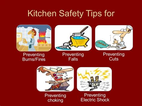 Kitchen Safety Tips by Why Is Safety In The Kitchen Important Ppt