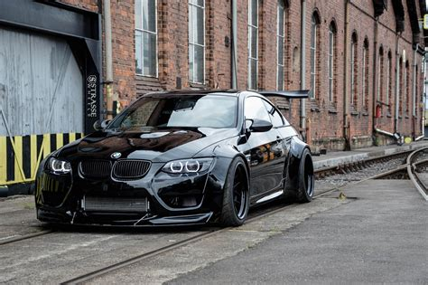 custom black bmw all black bmw 3 series customized in style