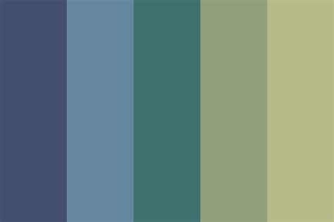 calm color palette calm sw color palette