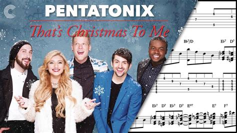 pentatonix christmas song video choir that s christmas to me pentatonix sheet music