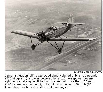 doodlebug airplane boeing frontiers
