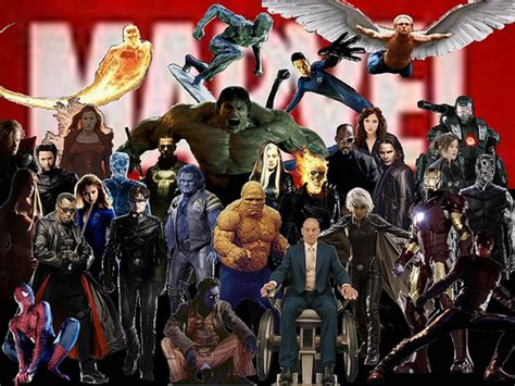 marvel film with all characters marvel movie characters every marvel superhero that has