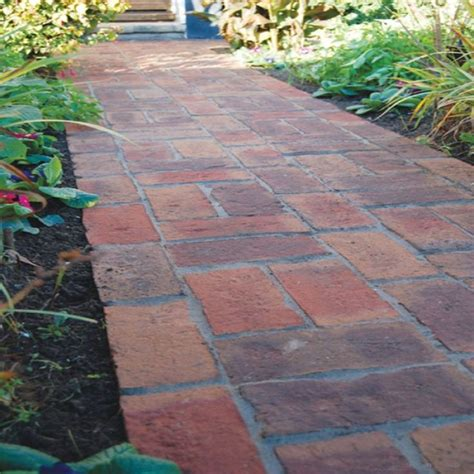 1000 ideas about clay pavers on front yards