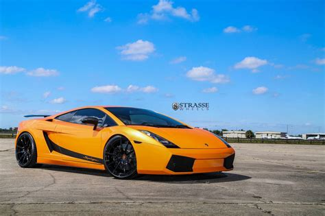 Lamborghini Superlaggera Arancio Borealis Lamborghini Gallardo Superleggera With