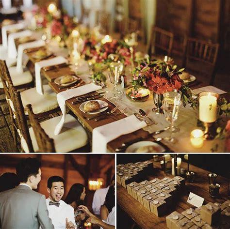 Rustic Wedding Buffet Table Decorations   99 Wedding Ideas