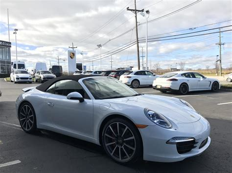 Porsche 7 Speed Manual by Dealer Inventory 2013 Porsche 911 S Cab 7 Speed Manual