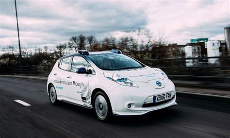 Nissan Eu Webmail Self Driving Nissan Car Takes To S Streets Daily