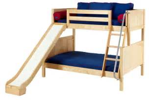 Toddler Bunk Bed With Slide Bunk Bed W Slide By Maxtrix 840