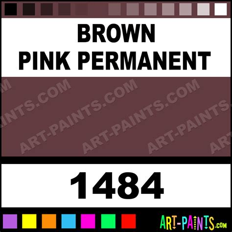 brown pink permanent artist paints 1484 brown pink permanent paint brown pink permanent