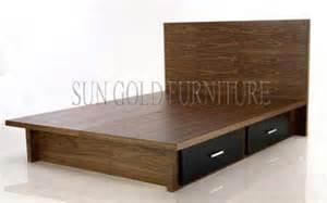Modern wooden beds with storage storage wooden bed
