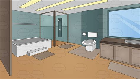 pictures of modern bathroom a modern master bathroom background clipart
