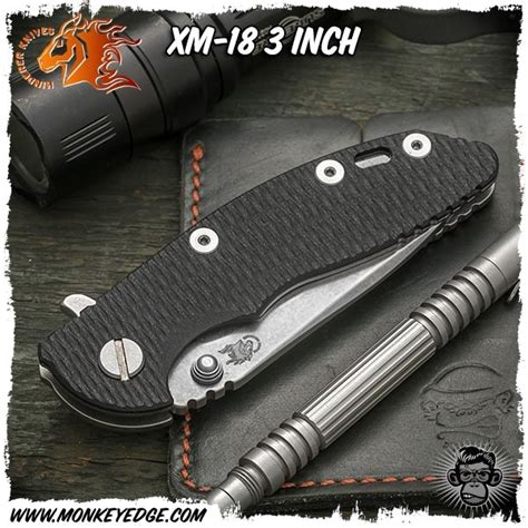 xm 18 3 inch monkey edge hinderer knives xm 18 3 inch spearpoint