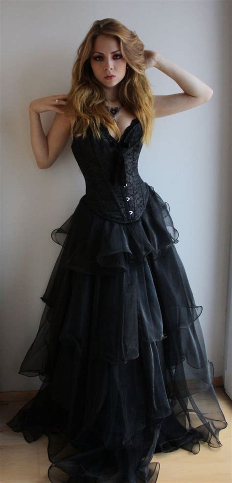 10 Stunning Dresses 50 by 50 Beautiful Black Wedding Dresses You Will Black
