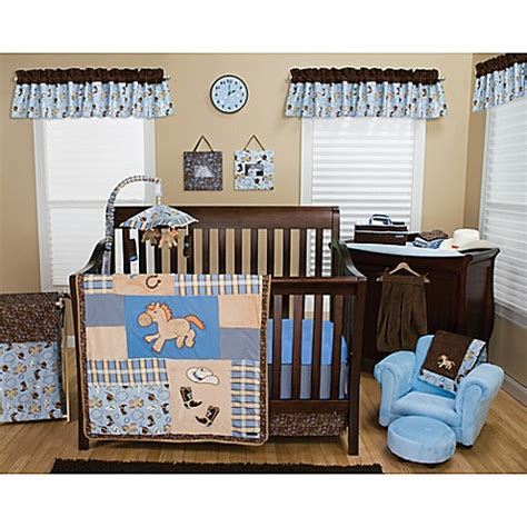 Trend Lab 174 Cowboy Baby Crib Bedding Collection Buybuy Baby Western Baby Crib Bedding