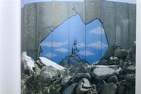 banksy wall  piece