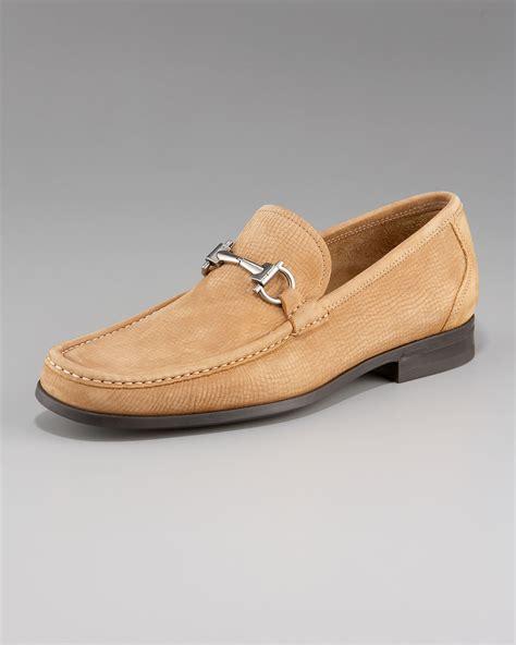 ferragamo magnifico loafer sale ferragamo magnifico suede loafer camel in beige for