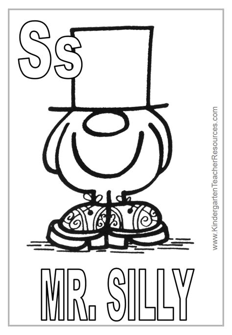 mr men coloring pages