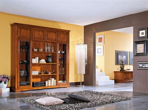 librerie classiche di lusso credenza in legno in stile classico per soggiorni e