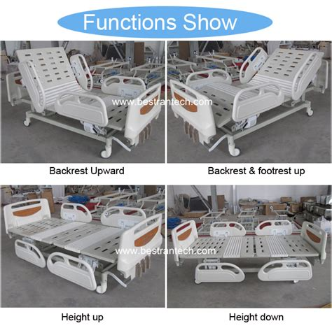 Hospital Bed Economy Ss Besi bt am102 3 function 4pcs abs side rail economic appliances hospital bed prices buy