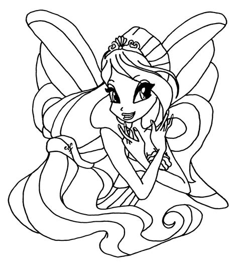 Winx Club Bloom Harmonix Coloring Pages bloom harmonix by elfkena on deviantart