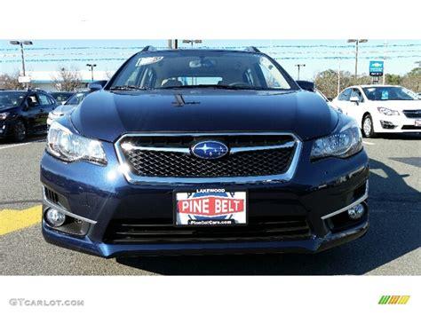 dark blue subaru 2016 dark blue metallic subaru impreza 2 0i sport premium