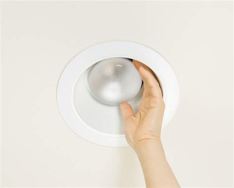 how to remove recessed lighting removing a stuck recessed lightbulb thriftyfun